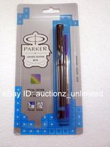 Parker Beta Special Edition Roller Ball Pen Tetris Blue - New Sealed - $9.99