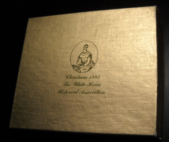 Christmas 1993 The White House Historical Association Julia Gardiner Tyler Boxed - $15.99