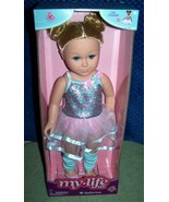 """MY LIFE as a BALLERINA Poseable Doll18"""" Blonde Doll New - $34.88"""