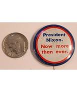 President Nixon Pinback Button Political Richard Nixon Vintage Now More ... - $5.93