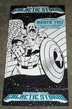 1991 Captain America 11x6 Marvel Comics promo display card sign: Avengers/Romita - $29.69