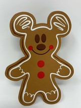 Disney Parks Mickey Mouse Gingerbread Cookie Coin Purse Christmas Holida... - $29.69