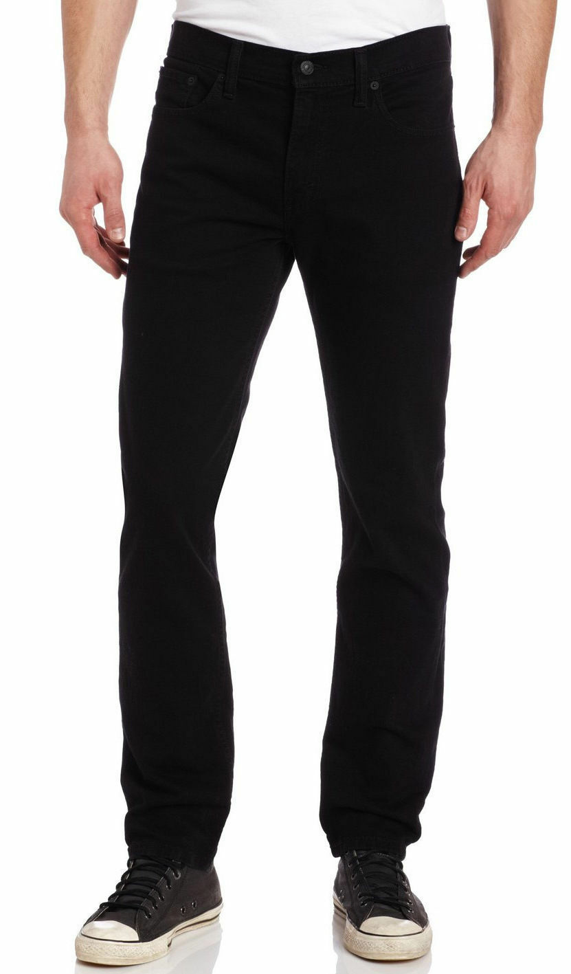 NEW LEVI'S STRAUSS 511 MEN'S ORIGINAL SLIM FIT JEANS PANTS BLACK 511-4406