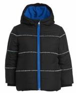 Calvin Klein Toddler Boys Hooded Logo-Tape Bubble Jacket, 5/6 Months - $64.35