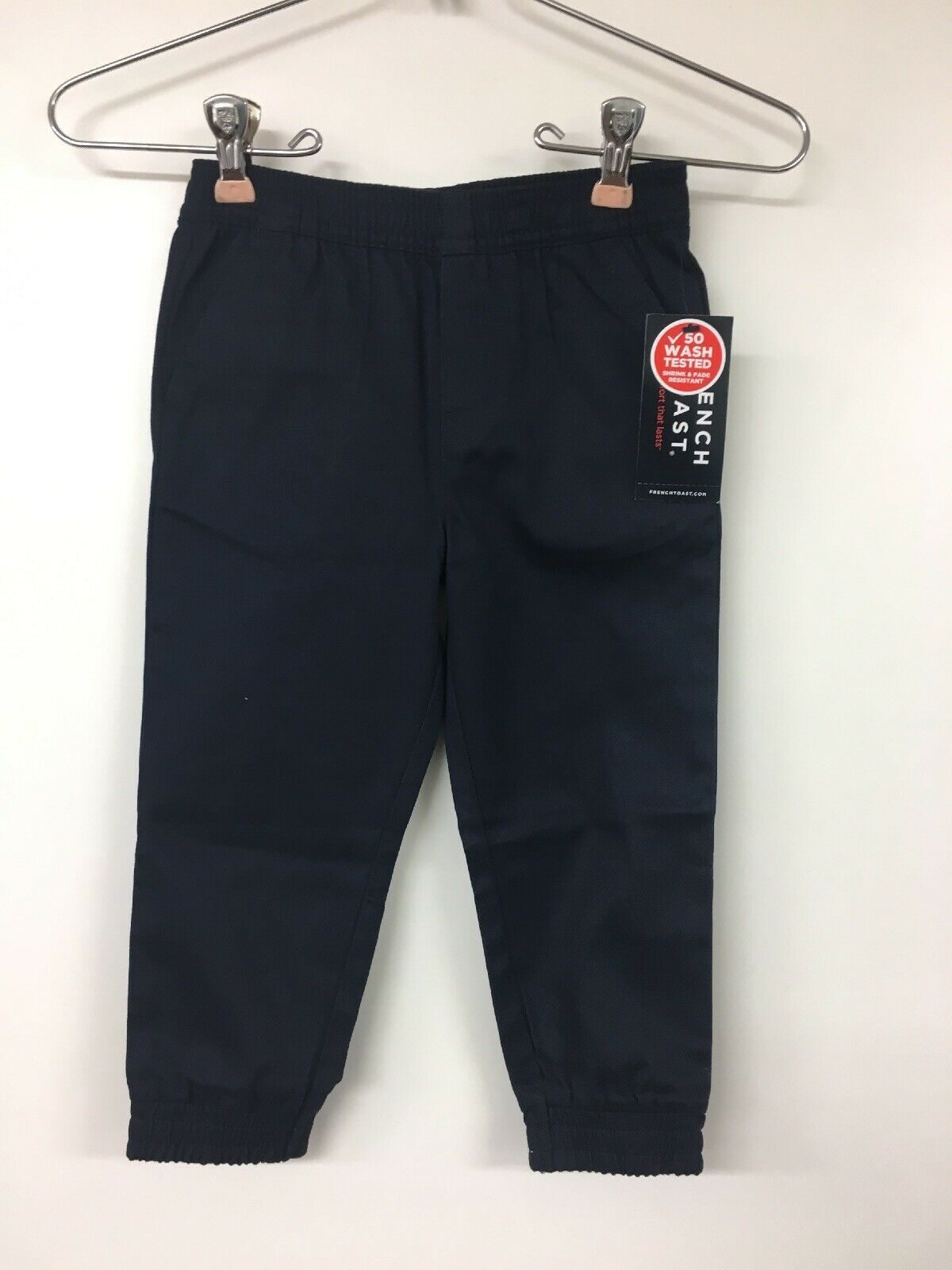Primary image for French Toast Pull On Joggers, Navy, 3T