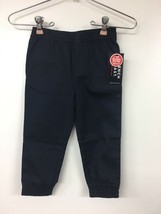 French Toast Pull On Joggers, Navy, 3T - $6.89