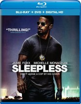 Sleepless (2017, Blu-ray/DVD + Digital)