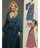 Simplicity Sewing Pattern 8013 Misses Ladies 1970s Vintage Dress Size 6-... - $16.02