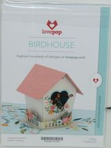 Lovepop LP2028 Birdhouse Pop Up Card  White Envelope Cellophane Wrapped image 6