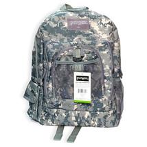 "East West U.S.A Grey Green Digital Camouflage Military Sports Backpack 18"" - $23.75"