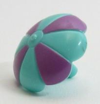 1995 Polly Pocket Vintage Pop-up Clubhouse Magenta / Turquoise Umbrella Bluebird - $6.00
