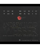 NEW SEALED 3 CD SET Andrew Lloyd Webber The Music The Magic Box Orlando ... - $39.59
