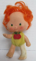 Red Haired Strawberry Toy Doll - 3 inch tall - $9.40
