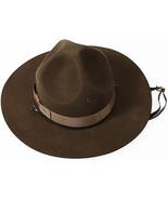 Trooper Brown Drill Sergeant Wool Felt Campaign... - $101.27