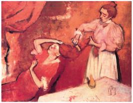 Decor Poster.Wall interior design.Brushing girls hair.Home Wall Art.1906 - $11.30+