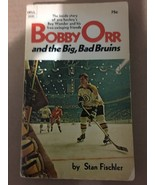 Bobby Orr And The Big Bad Boston Bruins 1971 Dell Paperback Book - $11.99