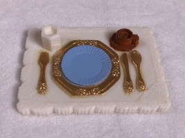 Fisher Price Loving Family Dollhouse Food Place Setting Formal Dining Ro... - $3.42