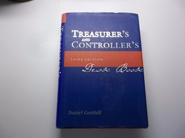 Treasurer's and Controller's Desk Book by Daniel L. Gotthilf (2001, Hard... - $20.56