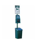 DOGIPOT Polyethylene Pet Waste Dispenser Station, Litter Pick Up Bags - ... - $325.19