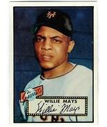 WILLIE MAYS HOF 1952 Topps Rookie RC #261 REPRINT - Baseball Card - $6.88