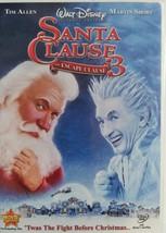 DVD  -  SANTA  CLAUSE  3  -  MOVIE  -  ( TIM  ALLEN  &  MARTIN  SHORT ) - $3.00