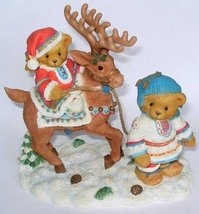 "Enesco Cherished Teddies Sven and Liv ""All Paths Lead to Kindness and Fr... - $18.17"