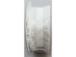 Decorative Lace Trim, White, 9 Feet