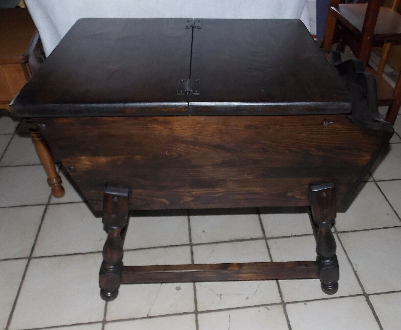 Pleasant Pine Old Tavern Doughbox End Table Side And 50 Similar Items Gmtry Best Dining Table And Chair Ideas Images Gmtryco