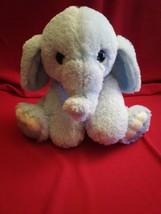 """8"""" Sitting Aurora Blue Baby Elephant  Stuffed Animal Plush Toy FREE Ship... - $17.67"""