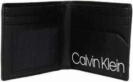 Calvin Klein CK Men's Genuine Leather ID Window Bifold Wallet 79813 image 9