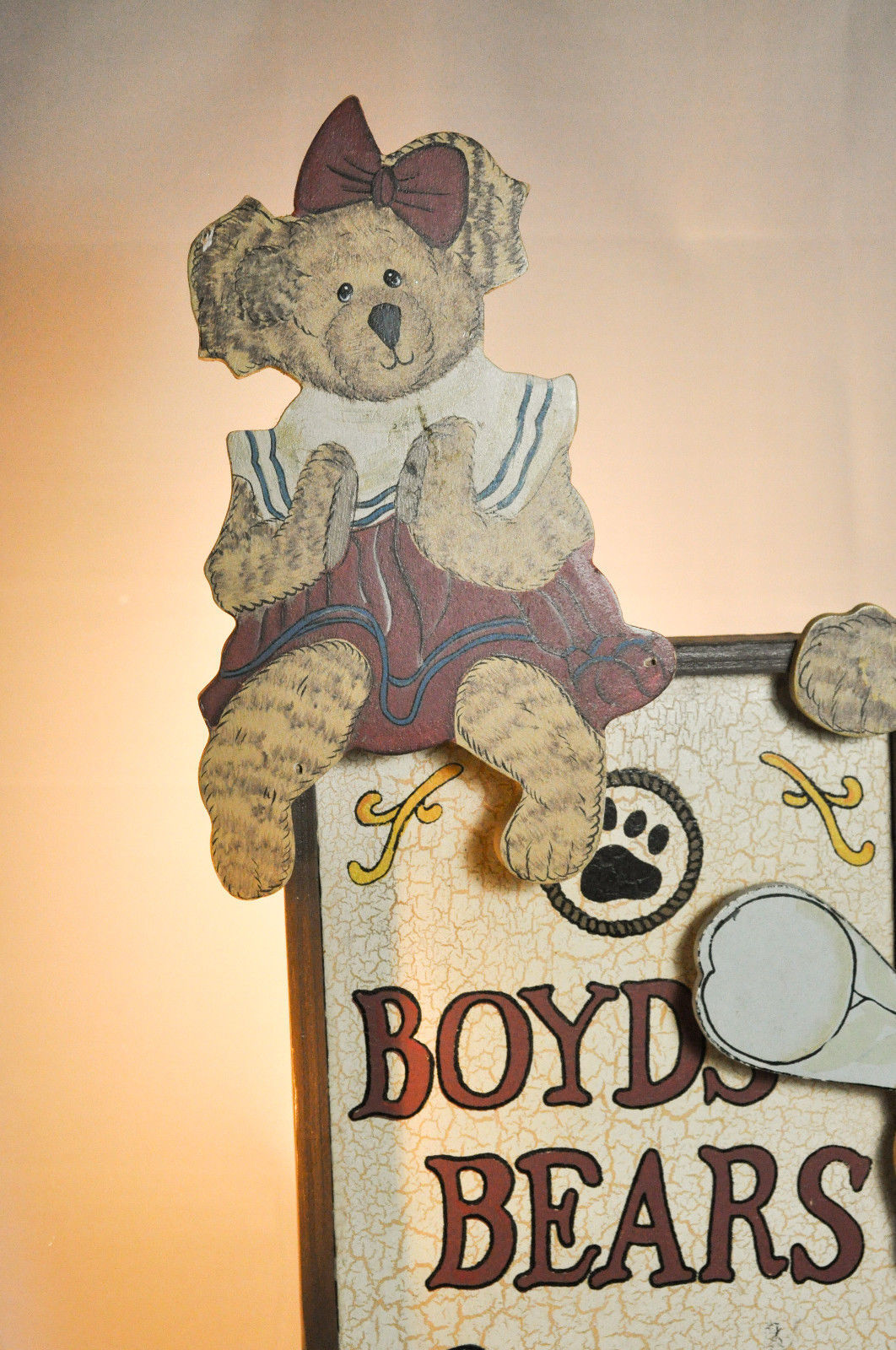 "Boyds Bears: Boyds Bears Spoken Here - Display Stand - # 654900 - 15"" x 8 1/2"" image 4"