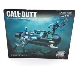 Mega Bloks Call of Duty Seal Sub Recon Collector Construction Set 171 Pc... - $19.79