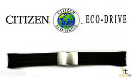 Citizen Eco-Drive Original S069467 23mm Black Rubber Watch Band Strap  - $119.95