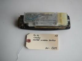 92-93-94-95-96 TOYOTA CAMRY  MASTER WINDOW  SWITCH #    (BOX-1209) - $18.76