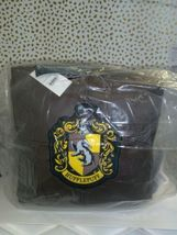 "Harry Potter Hogwarts Floor Pillow Brown 13"" x 13"" x 13""  new with tags STORE image 3"