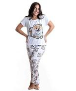 Dog pomeranian pajama set with pants for women - $35.00