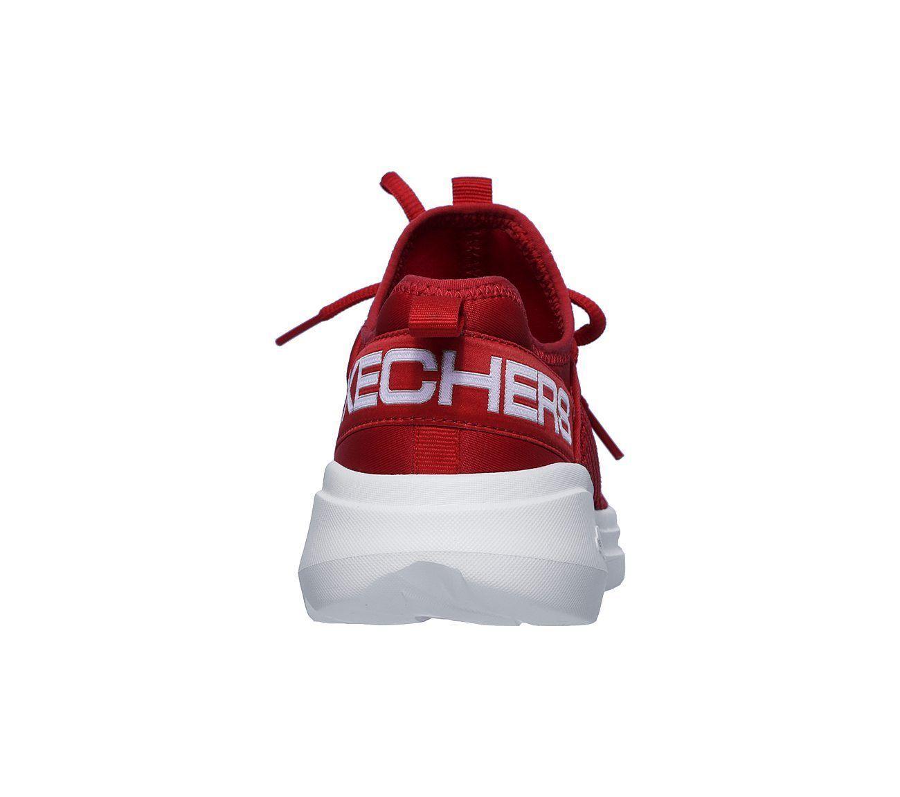 Skechers Red GO Run Fast shoe Women Sport Workout mesh Comfort Casual Soft 15103 image 6
