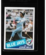 1985 Topps Jorge Bell #698 - $3.50
