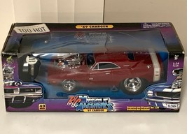RC Muscle Machines 1969 Red Dodge Charger Car 1:24 Scale - $100.76