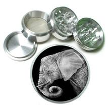"Elephant Art D21 Aluminum Herb Grinder 2.5"" 63mm 4 Piece - $13.81"
