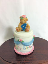 Cherished Teddies Covered Box Birthday Age 4  2001 NIB - $29.65