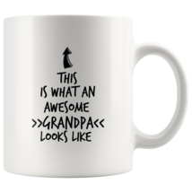 Coffee mug gift What an awesome GRANDPA mug - $16.50