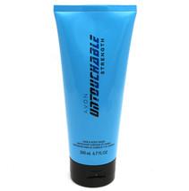 AVON Untouchable Strength Hair & Body Wash 6.7 oz / 200 ml New & sealed - $6.92