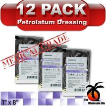 "12ct - Xeroform Petrolatum 1"" x 8"" Sterile Gauze Dressing First Aid Band... - $15.91"
