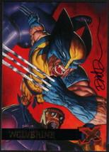 Dave DeVries SIGNED X-Men Art Trading Card ~ Wolverine 1995 Fleer Ultra - $19.79