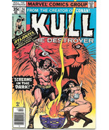 Kull The Conqueror Comic Book #24, Marvel Comics 1977 VERY FINE- - $5.71