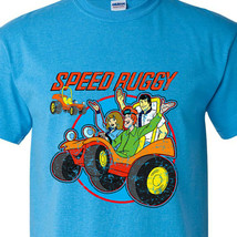 Speed Buggy t-shirt retro Saturday morning Cartoons 1970s 1980s heather blue tee image 1