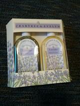 Vintage Crabtree & Evelyn Lavender Bath & Shower Gel & Body Lotion Gift Set - $29.99