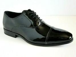 Florsheim Tux Cap Toe Black Patent Leather Shoes SZ 14 3E 14EEE - $89.09