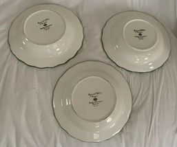 Raymond Waites Cornucopia Fruit Lattice ~ Fruits ~ Soup Bowls Set of 3 image 5